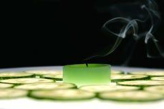 Vela del aroma Foto de archivo libre de regalías