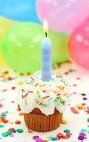 Vela del cumpleaños Foto de archivo