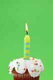 Vela del cumpleaños Imágenes de archivo libres de regalías