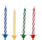 Vela del cumpleaños Foto de archivo libre de regalías
