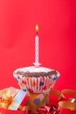 Vela del cumpleaños Imagen de archivo libre de regalías