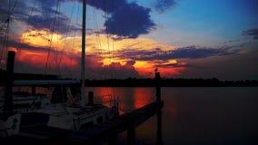 Vela di Sun Fotografia Stock