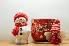 Vela do Feliz Natal imagem de stock