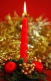 Vela do Natal Imagens de Stock