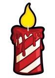 Vela do Natal ilustração royalty free