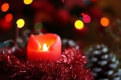 Vela do Natal Imagem de Stock