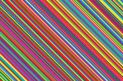 Vela do Natal, teste padrão do pirulito Fundo diagonal listrado com linhas inclinadas Ilustração listrado do vetor do contexto Imagens de Stock Royalty Free