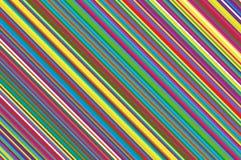 Vela do Natal, teste padrão do pirulito Fundo diagonal listrado com linhas inclinadas Ilustração listrado do vetor do contexto Foto de Stock Royalty Free