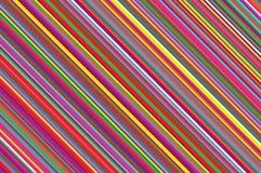 Vela do Natal, teste padrão do pirulito Fundo diagonal listrado com linhas inclinadas Ilustração listrado do vetor do contexto Fotografia de Stock Royalty Free