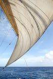 Vela e oceano foto de stock royalty free