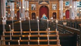 Vela em Christian Church vídeos de arquivo