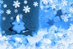 Vela festiva del nuevo-año Imágenes de archivo libres de regalías