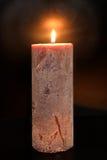 vela iluminada Imagens de Stock