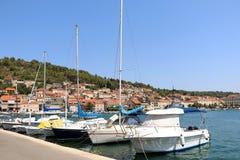 Vela Luka, Хорватия Стоковое Изображение RF