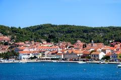 Vela Luka, Croatia. Vela Luka is a picturesque coastal town on Korcula Island, in Croatia Stock Photography