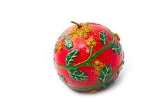 A vela olha como a maçã imagens de stock royalty free