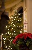 Vela Paschal no Natal Imagem de Stock