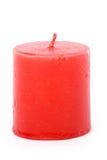 Vela roja Imagen de archivo libre de regalías