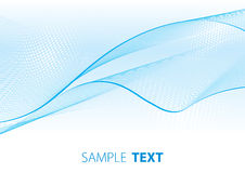 Velare blu-chiaro Fotografie Stock