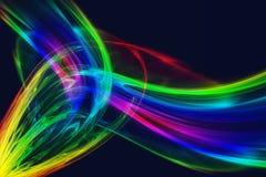 Velare colorati Immagine Stock