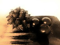 Velas Imagen de archivo libre de regalías