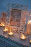 Velas ardentes Imagens de Stock Royalty Free