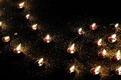 Velas ardientes Imagen de archivo