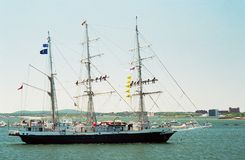 2000 velas Boston, Lord Nelson fotos de stock royalty free