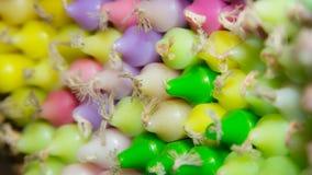 Velas coloreadas Fotos de archivo libres de regalías