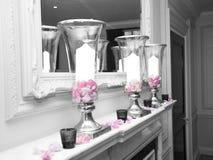 Vasos da vela Foto de Stock