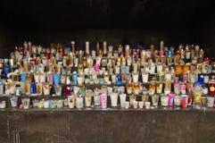 Velas da igreja Imagem de Stock