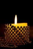 Velas da luz de vela Foto de Stock