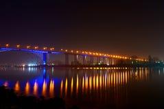 Velas da ponte Foto de Stock