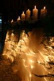 Velas de la boda Imagen de archivo libre de regalías