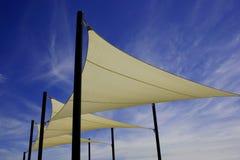 Velas de la cortina Imagenes de archivo