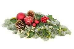 Velas de la Navidad del vector decoration imagenes de archivo
