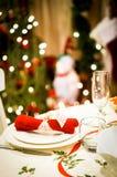 Velas de la Navidad del vector decoration Foto de archivo