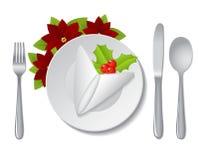 Velas de la Navidad del vector decoration Fotografía de archivo libre de regalías