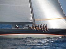 Velas de St Tropez 2012 Foto de Stock