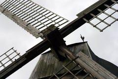 Velas de um moinho de vento Fotos de Stock Royalty Free