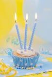 Velas do aniversário foto de stock royalty free