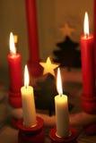 Velas do Natal Fotos de Stock