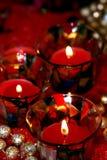 Velas do Natal Imagens de Stock