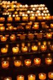 Velas en iglesia Imagen de archivo