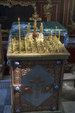 Velas en la iglesia foto de archivo libre de regalías