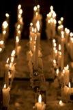 Velas en la iglesia Fotos de archivo libres de regalías
