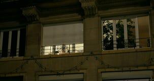 Velas en las ventanas