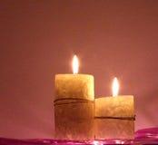 velas perfumadas Imagen de archivo libre de regalías