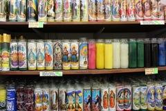 Velas religiosas Imagens de Stock