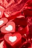 Velas românticas imagem de stock
